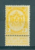 BELGIE - OBP Nr 54 - Wapenschild -  MNH** - Cote 2,50 € - 1893-1907 Coat Of Arms