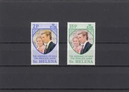 Santa Helena Nº 263 Al 264 - Sellos