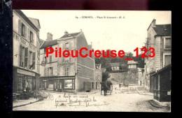 """91 Essonne - CORBEIL ESSONNES - """" Place Saint Léonard - Animation """" - Corbeil Essonnes"""