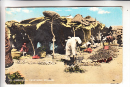 SUDAN - OMDURMAN; Vegetable Seller, 1961 - Sudan