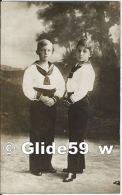 Carte-Photo Jacques-Henri Y Alphonse, Príncipes De Asturias (CPA Sans Intitulé) - Familles Royales