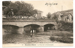 § PROMO - TAMPON 7 ème Corps Armée Trésor Et Postes § 88 - RAMBERVILLERS Le Pont De La Gendarmerie Animée écrite - Rambervillers