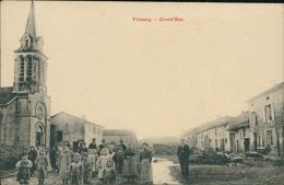 57 FREMERY / Grand'Rue / BELLE TOP CARTE RARE - Other Municipalities