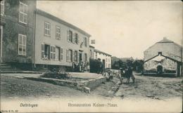 57 OETRANGE / Restauration Kaiser-Naux / BELLE TOP CARTE RARE - France