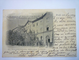 GRUSS  Aus  LEIPZIG  :  Das Evangelisch-lutherische  Missionshaus  In  Leipzig   1905 - Leipzig