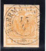 AUTRICHE : N� 1 OBL . 1850 . TB .