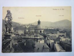 TETSCHEN  A. D.  ELBE   1911 - Czech Republic