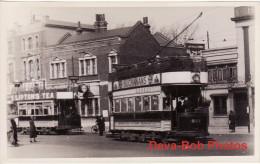 Tram Photo London Metropolitan Electric Tramways Car 201 Tramcar - Trains