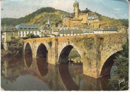 Estaing  Le Pont Gothique - France