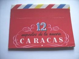 Venezuela Caracas 12 Aspectos De La Nueva Booklet With 12 Nice Pictures - Venezuela
