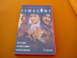 Timeline - Old Greek Vhs Cassette From Greece - Action, Aventure