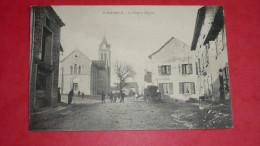 St-BAUDILLE - La Place Et L'Eglise - Non Classés