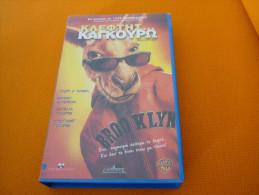 Kangaroo Jack - Old Greek Vhs Cassette From Greece - Action, Aventure