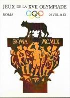 Cartolina D´epoca XVII Olimpiade Di Roma - Sommer 1960: Rom