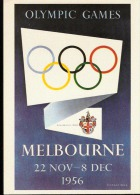 CARTOLINA D´EPOCA OLIMPIC GAME MELBOURNE 1956 - Sommer 1956: Melbourne