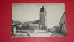 MOLLANS (Hte Saone) )- Place De L'Eglise - France