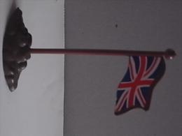 1 Figurine - Flag - Leger