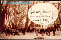 CPA - Honfleur - La Principale Promenade - Autos, Chevaux, Belle Animée 1905 - Honfleur