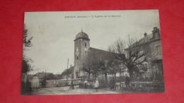 ARCEY (Doubs) L'Eglise Et La Mairie - Non Classés