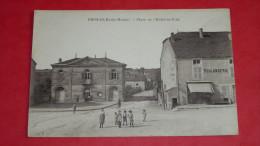 BIESLES - (Haute-Marne) Place De L'Hôtel De Ville - France