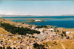 1 AK * Peru * Ansicht von Puno - die Hauptstadt der Region Puno liegt am Titicaca See