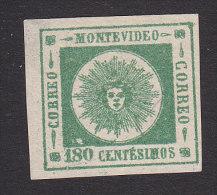 """Uruguay, Scott #17, Mint No Gum, """"El Sol De Mayo"""", Issued 1860 - Uruguay"""
