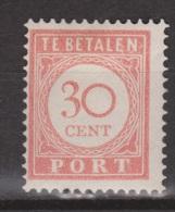 Nederlands Indie Dutch Indies Port 33 MLH ; Port, Due, Timbre-taxe, Postmarke, Sellos De Correos, Portzegel - Indonésie