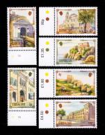 GIBRALTAR 1993  N° YT 671** A 676** Patrimoine Architectural BDF - Gibraltar