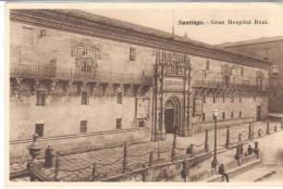 POSTAL    SANTIAGO DE COMPOSTELA  - ESPAÑA -  GRAN HOSPITAL REAL - Santiago De Compostela