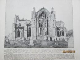 l abbaye de melrose  ecosse scotland    + coblentz   allemagne   coblence rhin