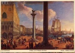Roma - Cartolina IL MOLO, CON IL PALAZZO DEI DOGI Di Luca Carlevarijs, Galleria Corsini - OTTIMA G96 - Pittura & Quadri