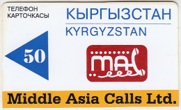 KYRGYZSTAN(chip) - Middle Asia Calls Ltd Magnetic Telecard 50 Units, Exp.date 31/12/97, Used - Kyrgyzstan