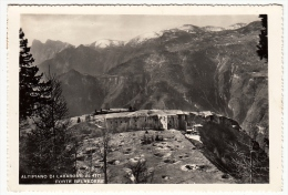 ALTIPIANO DI LAVARONE - FORTE BELVEDERE - TRENTO - 1961 - Trento