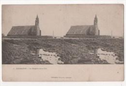 Carte Stéréoscopique - PENMARCH - La Chapelle De La Joie - Stereoscope Cards