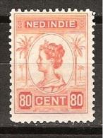 Nederlands Indie Netherlands Indies Dutch Indies 131 MLH ; Koningin, Queen, Reine, Reina Wilhelmina 1913-1931 - Nederlands-Indië