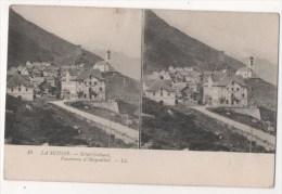 Carte Stéréoscopique - LA SUISSE - SAINT GOTHARD - Panorama D'Hospenthal - Stereoscopische Kaarten