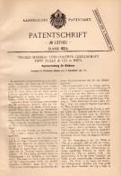 Original Patent - Tiroler Marmor- Und Porphyr-Gesellschaft Fritz Zeller & Co In Wien , 1901 , Bildhauer - Kopierapparat - Bronzen