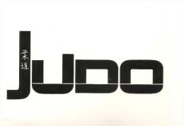 Autocollant Stickers De La FFJDA De JUDO 13 X 10 Cm 2014 - Sports De Combat