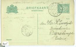 HANDGESCHREVEN BRIEFKAART Uit 1908 Van APELDOORN Naar AMSTERDAM BEURS  (8906) - Postal Stationery