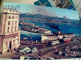 TURCHIA  INSTANBUL  KARAKOY NAVE SHIP  FERRY  AUTOBUS  N1980EM8890 - Turchia