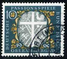 BRD - Michel 329 - OO Gestempelt (A) - Passionsspiele Oberammergau - [7] West-Duitsland