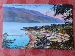 Dep 73 , Cpa (colorisée) AIX Les BAINS , 39 , Vue Générale De La Plage Et Le Lac Du Bourget (001)Recto/Verso - Aix Les Bains