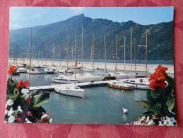 Dep 73 , Cpm AIX Les BAINS ,  Le Grand Port Et La Dent Du Chat (025)Recto/Verso - Aix Les Bains