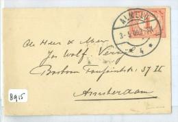 BRIEFOMSLAG Uit 1909 Van ALMELO Naar AMSTERDAM   (8915) - Periode 1891-1948 (Wilhelmina)