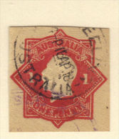 Australia cut square 1 penny