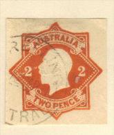 Australia cut square 2 pence