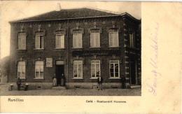 BRABANT 1 CP Ramillies   Café     Restaurant Huvenne   1906 - Ramillies