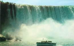 "Niagara Falls - ""Maid Of The Mist"" An Excursion Steamer Below The Canadian Horseshoe Falls - Chutes Du Niagara"
