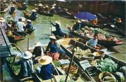 THAILAND - DAMMONSADUAK - Floating Market - Thaïlande