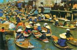 THAILAND - Floating Market - Thaïlande